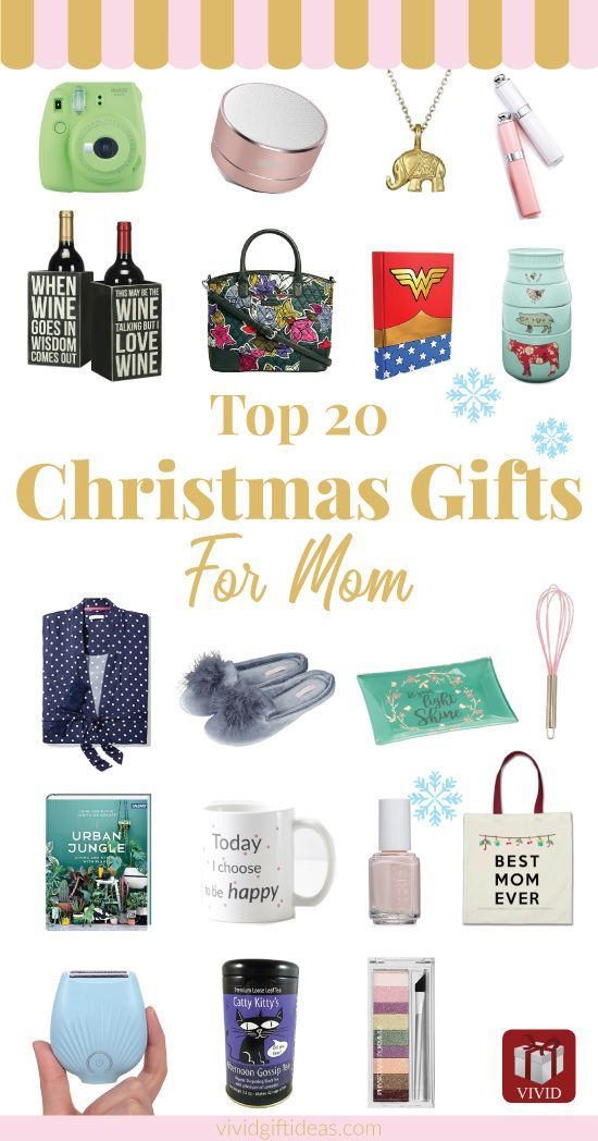 Unique and meaningful Christmas gifts for mom who has everything. Includes  inexpensive ideas. Suitable for mom from daughter. - This Year's Most Fabulous Christmas Gifts For Mom Gifts For Girls