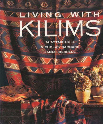 """My favorite reference on Kilim patterns - history and origin, uses on floor, wall, and unusual applications"" - Sieglinde Anderson, designer of cross-point TM kit patterns"