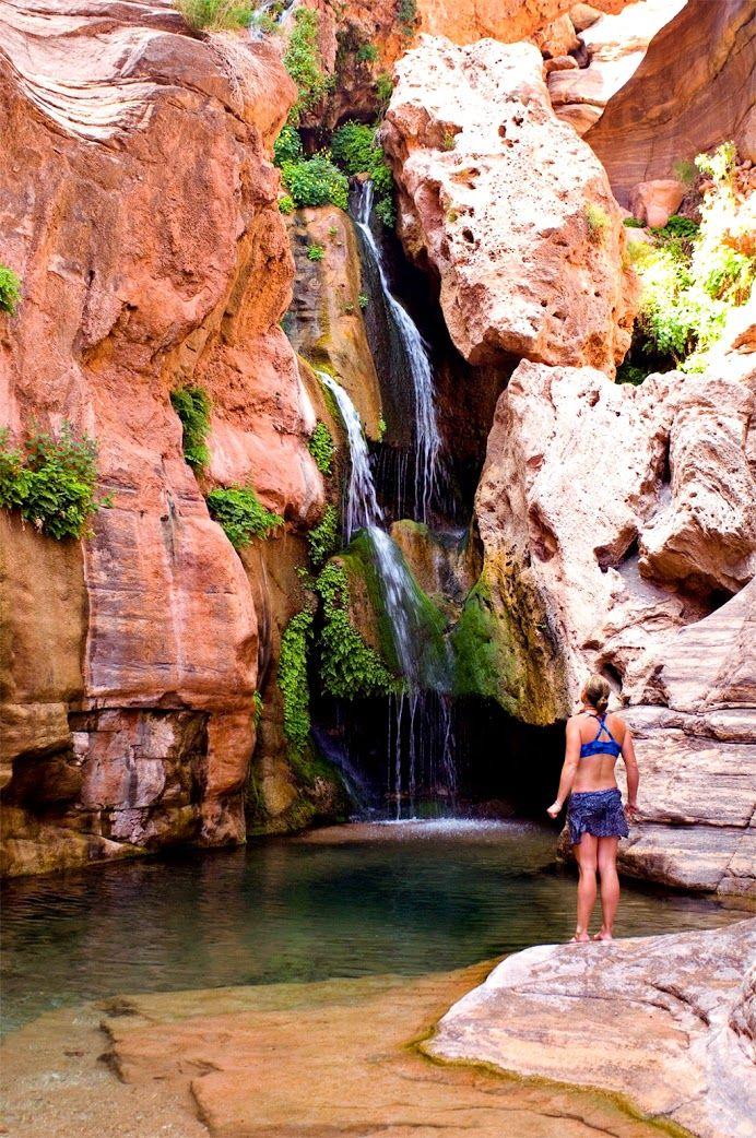 Elves Chasm ( BÜYÜK KANYON )  Büyük Kanyon Ulusal Parkı (İngilizce: Grand Canyon National Park) Amerika Birleşik Devletleri'nin Arizona eyaleti sınırlarında bulunan en eski ulusal parktır. ♥♥♥ Elves Chasm (Grand Canyon)  Grand Canyon National Park (English: Grand Canyon National Park), Arizona, is the oldest national park in the United States at the border.