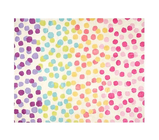 Nyla s Room   Rainbow Dot Rug   Pottery Barn Kids. 17 Best ideas about Kids Rugs on Pinterest   Contemporary rugs
