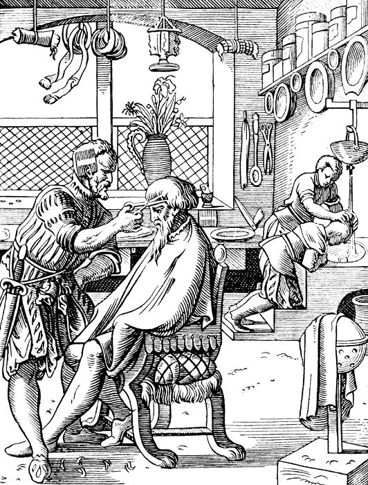 A look at the history of barbering, from the ancient greeks and romans, all the way to modern barbershops!