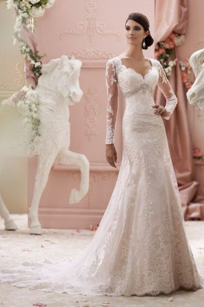 sale david tutera for mon cheri 115240 Finley price wedding dress with illusion and scalloped lace long sleeves