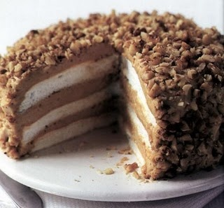 Weight Watchers Recipes: Coffee Cream Cake | WW points per serving: 6
