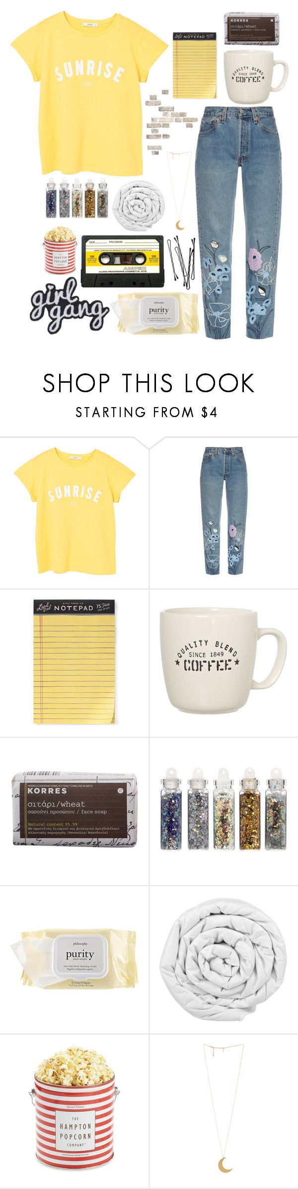 """""""ix ‹‹ no shortcut that we can take"""" by coffee-stained-kisses ❤ liked on Polyvore featuring MANGO, Bliss and Mischief, Rifle Paper Co, Korres, ASOS, philosophy, BOBBY, Brinkhaus and The Hampton Popcorn Company"""
