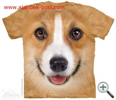 CORGI kutya - Mountain gyermek, felnőtt póló