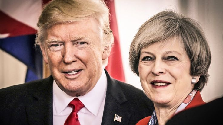 Trump Ordered British Prime Minister To Stop People From Protesting His ...