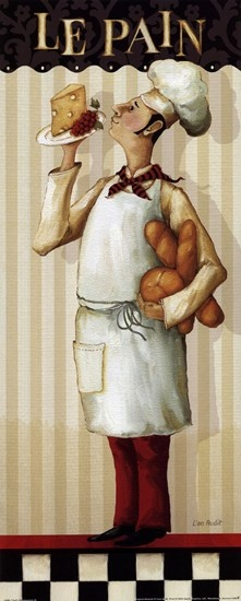 Chef's Masterpiece III by Lisa Audit art print