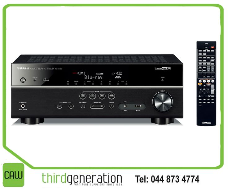 Here is a great deal on a Yamaha RX-V477 powerful surround sound that you simply could not resist. Was R7770 and now you can get it for only R6190 at your nearest CAW Third Generation store. E&OE, while stocks last. #Yamaha #CAW3G
