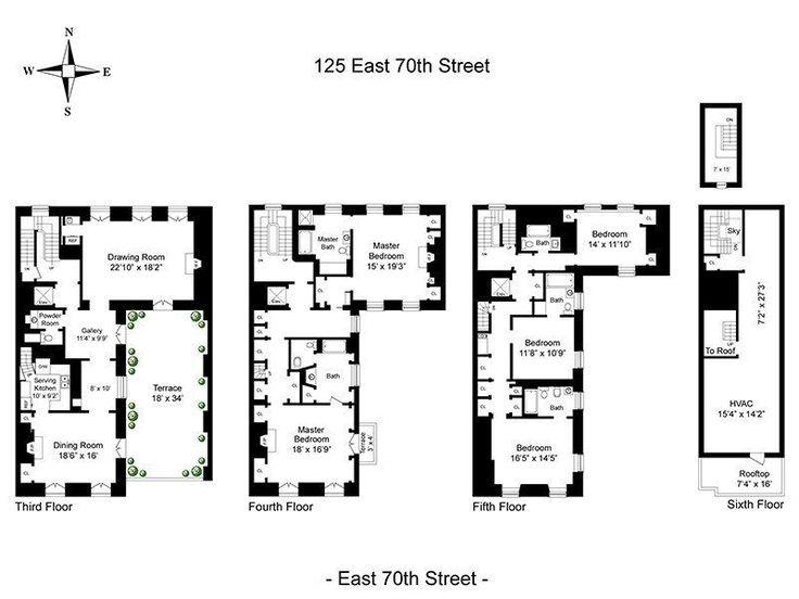 67 best townhouseduplex plans images on Pinterest Family house