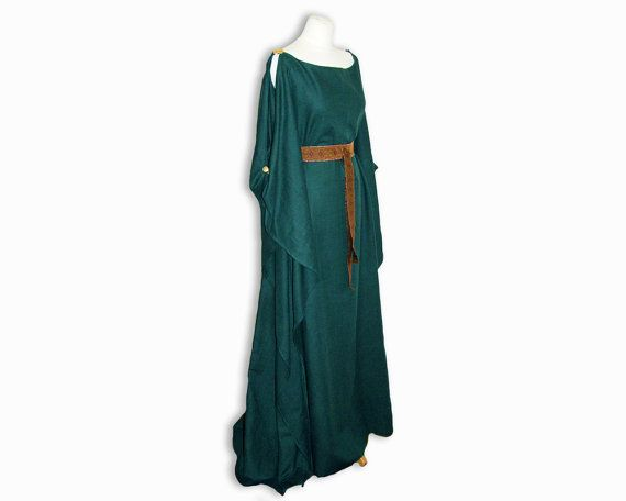 Medieval Dress Ceres, Fantasy, made to order, fairy tale, Elf, Daenerys, Hobbit, Celtic, irish wedding dress, Game of thrones, handfasting on Etsy, $154.65