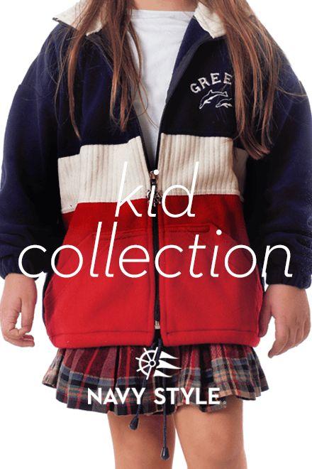 Kid Collection, fleece, navy style