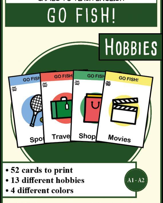 Jeu de cartes en anglais : Go fish sur les loisirs - %%sitename%%