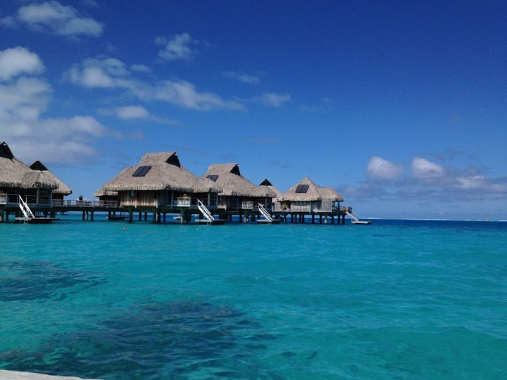 Spend a week doing nadda in a private over-water bungalow in Bora Bora.