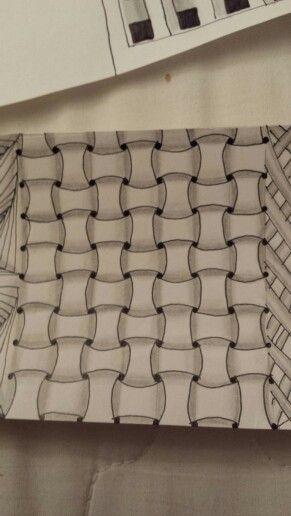 "Zentangle Pattern ""Huggins"""