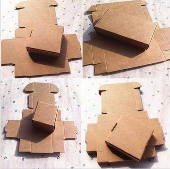 ( Минимальный заказ $ 6 ) ( 1 лот = 20 шт. ) 21 разного размера DIY скрапбукинг бумага крафт подарочные коробки свадебные конфеты украшения упаковочной коробки