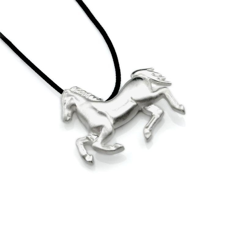 Horse Pendant Silver  #Unisex #Jewelry #Horse #Pendant #Silver #Animal #Historical #Equestrian #Athens #Unique #Design