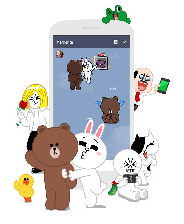 LINE es una innovadora aplicación que te permite llamar y mandar mensajes de forma GRATUITA las 24 horas del día, en cualquier sitio y en cualquier momento.