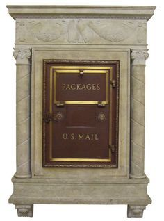 Image result for antique mailbox