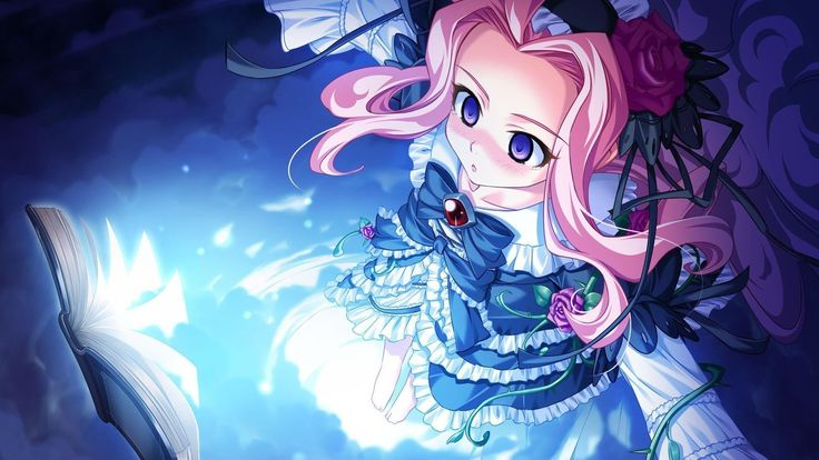 Cute anime girl image wallpaper hd Places to Visit Pinterest