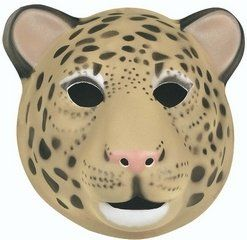 Leopard Mask (Foam) at theBIGzoo.com, a family-owned store. Check our sales & FREE Shipping.
