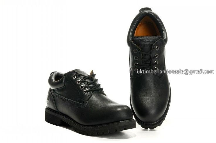 Timberland Chukka Boots All Black For Men Waterproof Oxford $78.00