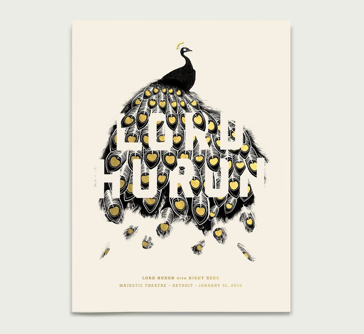 """Lord Huron Poster: 18"""" x 24"""""""