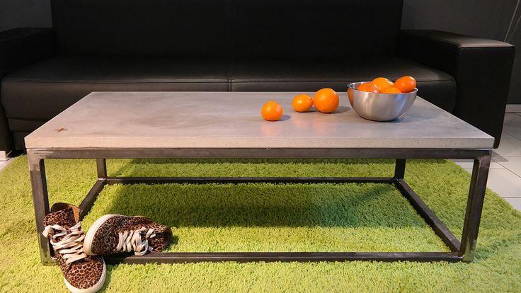 ber ideen zu couchtisch beton auf pinterest. Black Bedroom Furniture Sets. Home Design Ideas
