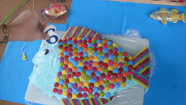 Rainbow Cake Recipe Joy Of Baking: 17 Best Images About Fish Cakes On Pinterest