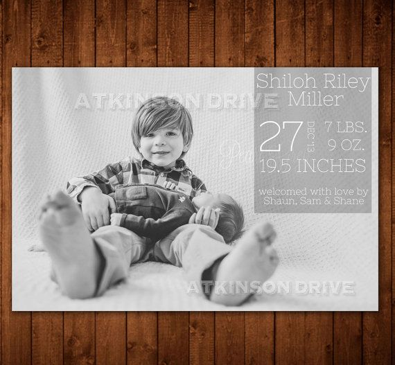 1000 images about Birth announcements – Birth Announcements Indianapolis