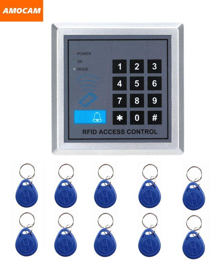 security rfid proximity entry door lock access control system 10 keys