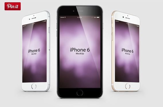 7 Mockup psd Composition Iphone 6  http://textycafe.com/23-iphone-6-mockup-psd-templates/