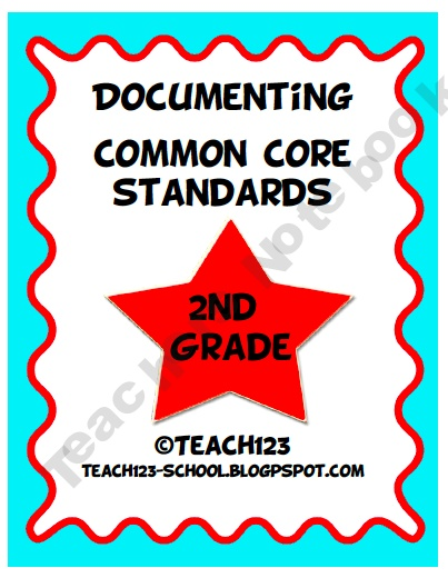 Documenting Common Core Standards - 2nd Grade: Common Cores Standards, Common Core Standards, Grade Common, Art Teacher, Books Labels, Schools Ideas, Documents Common, Cores Standards 1St, 2Nd Grade