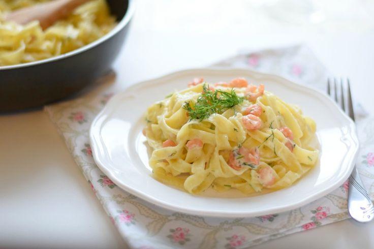 Паста с морепродуктами в сливочном соусе рецепт