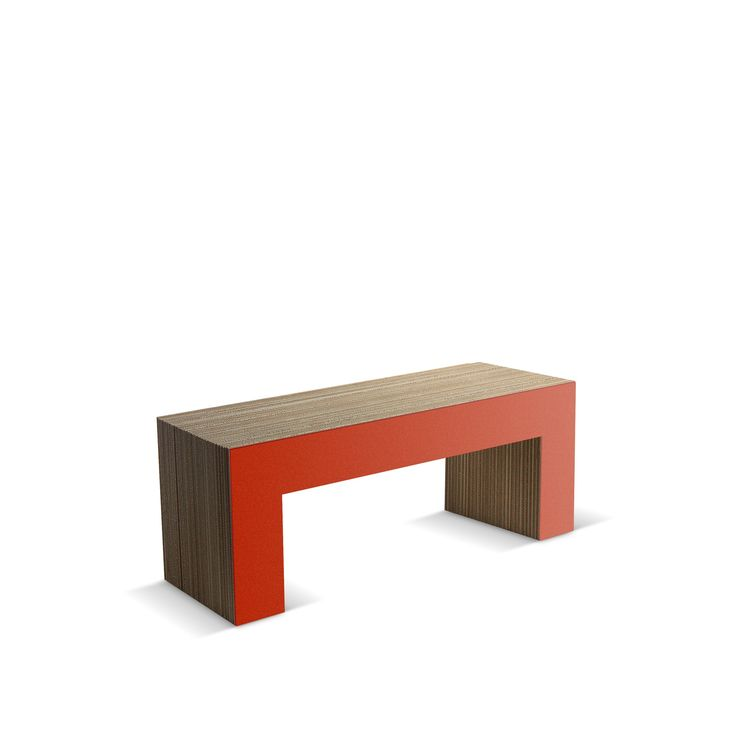 PANCA NR 7-120 - Carton Factory Designer: Skemp Design Misure: 120 X 40 X 45