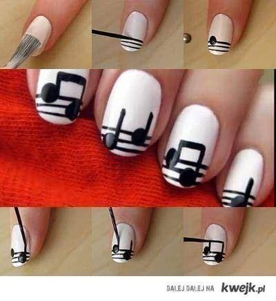 Music Nails Tutorials
