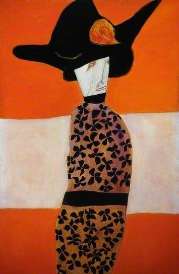 Belle Starr (1848–1889), 1979 by Pat Douthwaite (Scottish 1939–2002)