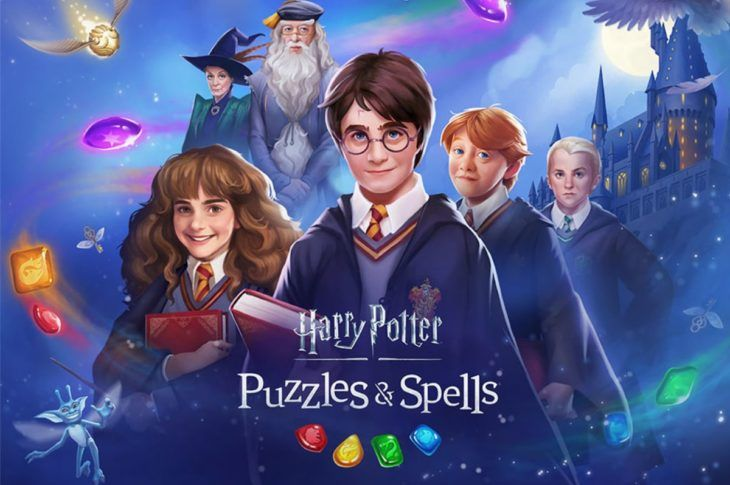 Harry Potter Puzzles Spells Juego Movil De Zynga Para Match 3