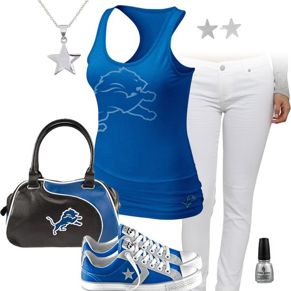 Detroit Lions All Star Outfit