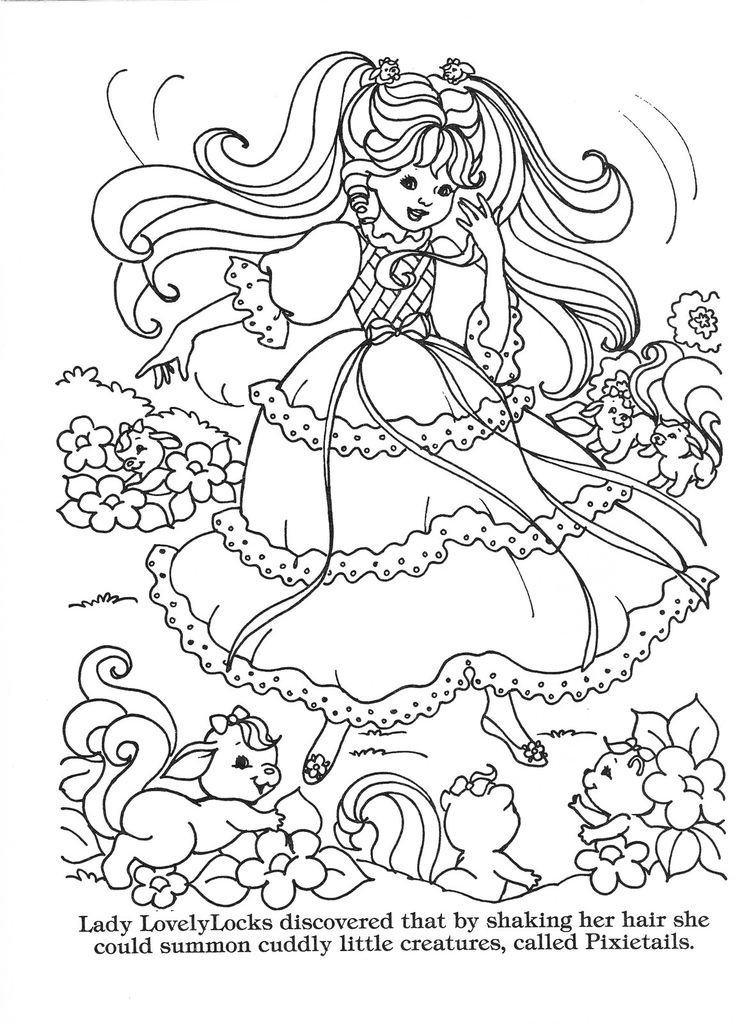 lady lovely locks coloring pages 25 best ideas about lady lovely locks on pinterest love
