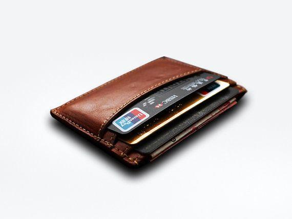 Free carving Thin Card wallet Minimal Wallet credit von HeyFish