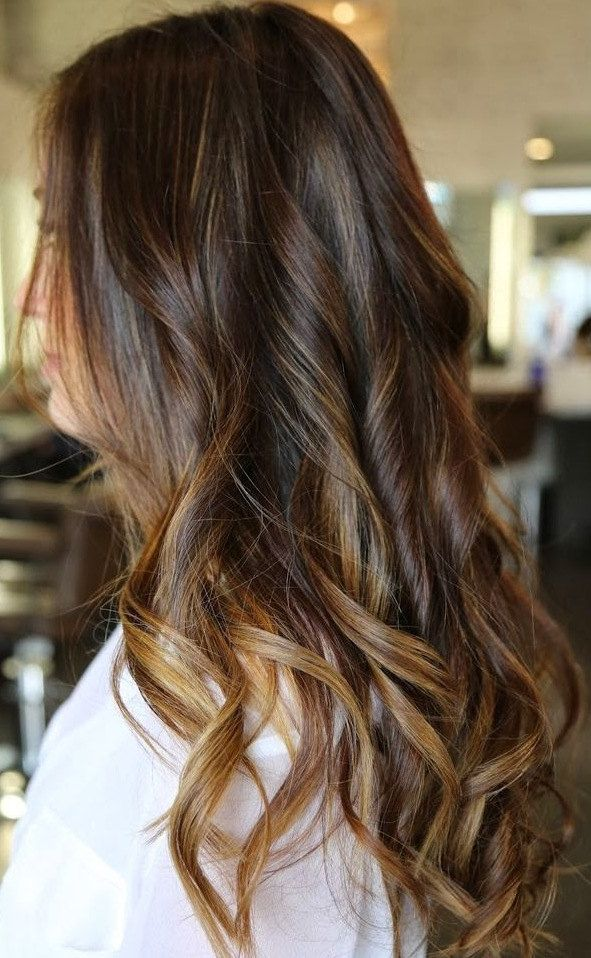 """medium dark brown to chestnut brown hair extensions human,clip in remy human hair 24"""",brown ombre hair extensions,chestnut brown ombre hair by Hair4daze on Etsy https://www.etsy.com/listing/192268161/medium-dark-brown-to-chestnut-brown-hair"""