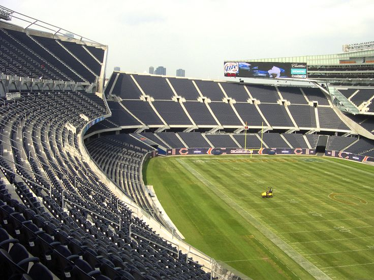 Soldier Field has a real connotation with the football lovers. Architects Holabird and Roche are to be applauded for bringing up this much needed stadium for sports enthusiats.