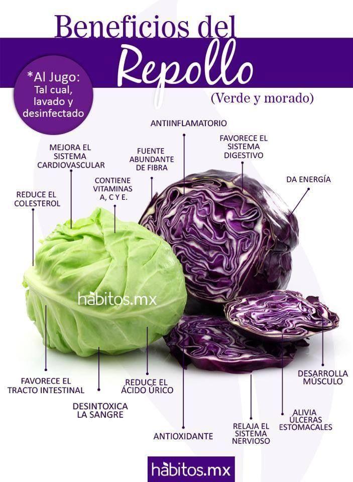 Repollo #comerbien #vidasana #alimentos #salud