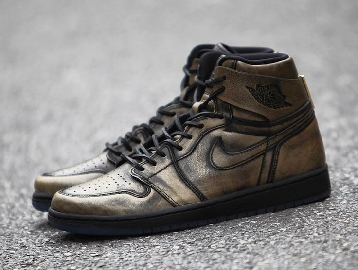 Air Jordan 1 Wings Metallic Gold Release Date - Sneaker Bar Detroit