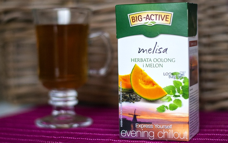 Herbata Big-Active Melisa, oolong i melon - recenzja & opinia na yetea.pl