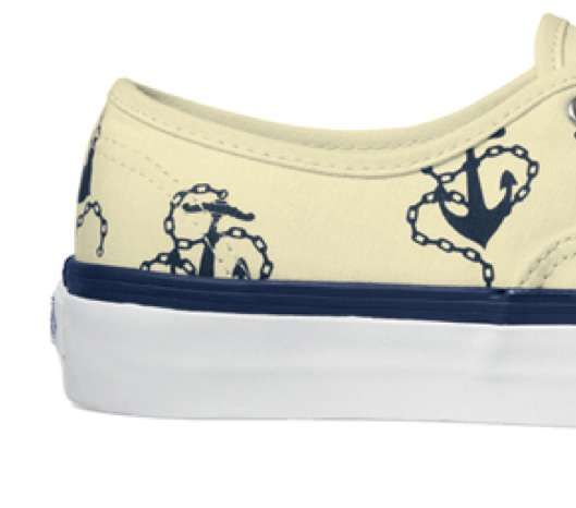 The Vans California Vintage Anchors Shoe Makes a Stylish Splash this Season #shoes #footwear trendhunter.com
