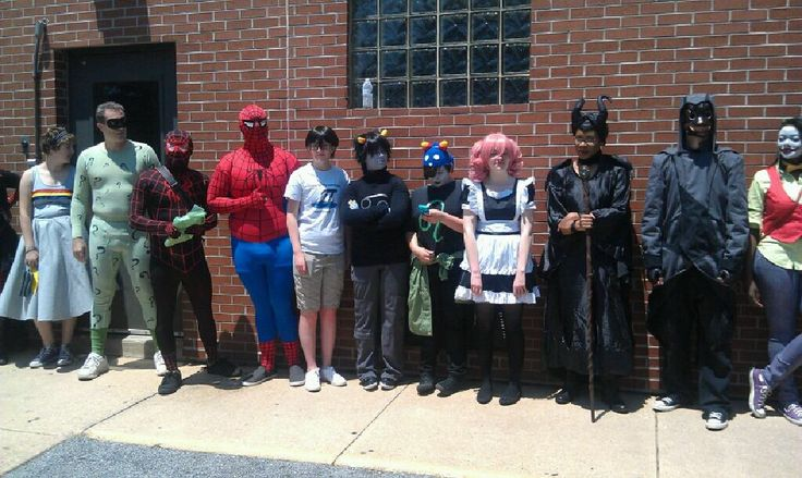 Me and other cosplayers
