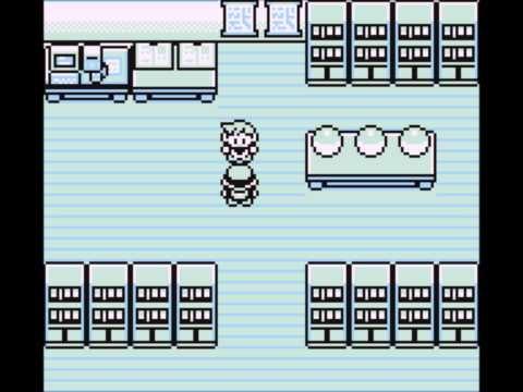 Pokemon Red (GameBoy Colour / NO$Cash 1996)