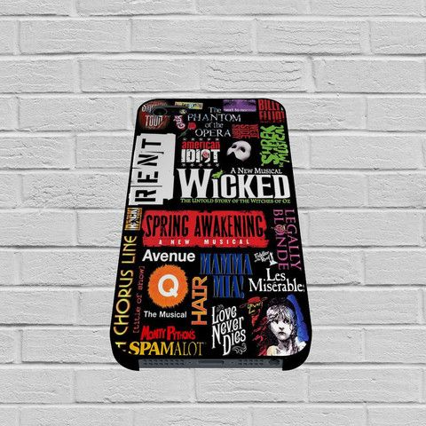 Broadway Musical Collage Art case of iPhone case,Samsung Galaxy #case #casing #phonecase #phonecell #iphonecase #samsunggalaxycase #hardcase #plasticcase