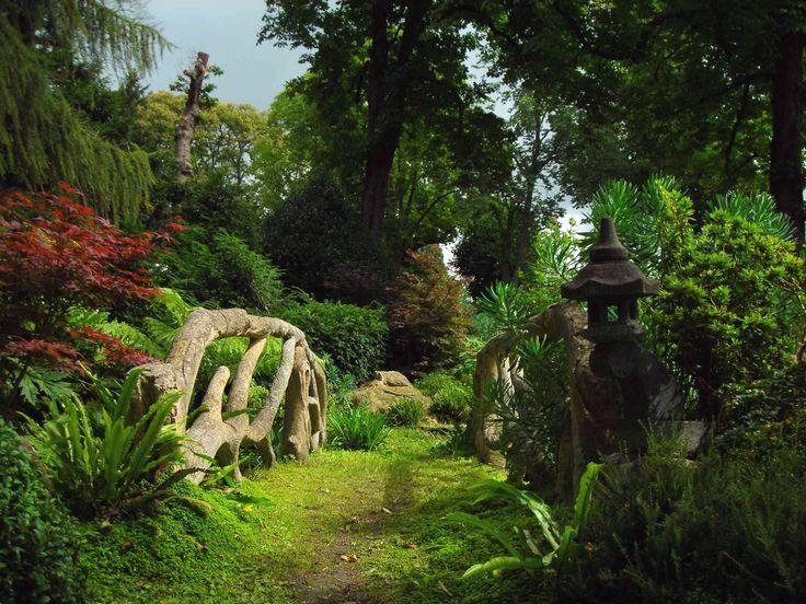 Jardin japonais à Montmorency (Val d'Oise- France) Création et photo Taffin